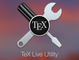TeX Live Utility Icon by fredericofrancisco