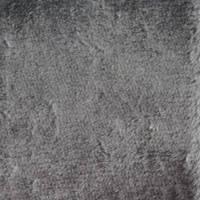 Grey Short Fake Fur by PinkPanthress-Stock