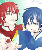 akaito and kaito by roronoa467