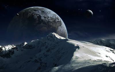 Silent Mountains by QAuZ