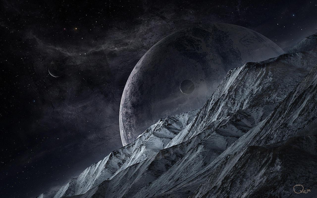 Dark Space by QAuZ