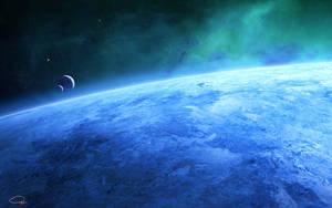 Blue Planet by QAuZ