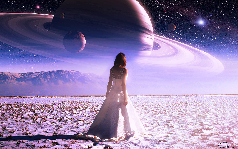 Light in Dream of Saturn by QAuZ