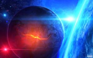 Extreme Sci-Fi Space WP by QAuZ