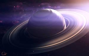 I Love Saturn by QAuZ