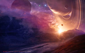 Dreamy And Calm Sunrise by QAuZ