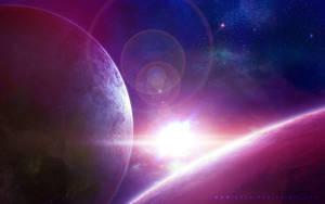 Space Wallpaper by QAuZ
