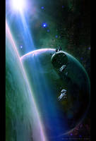 Shining in Space by QAuZ