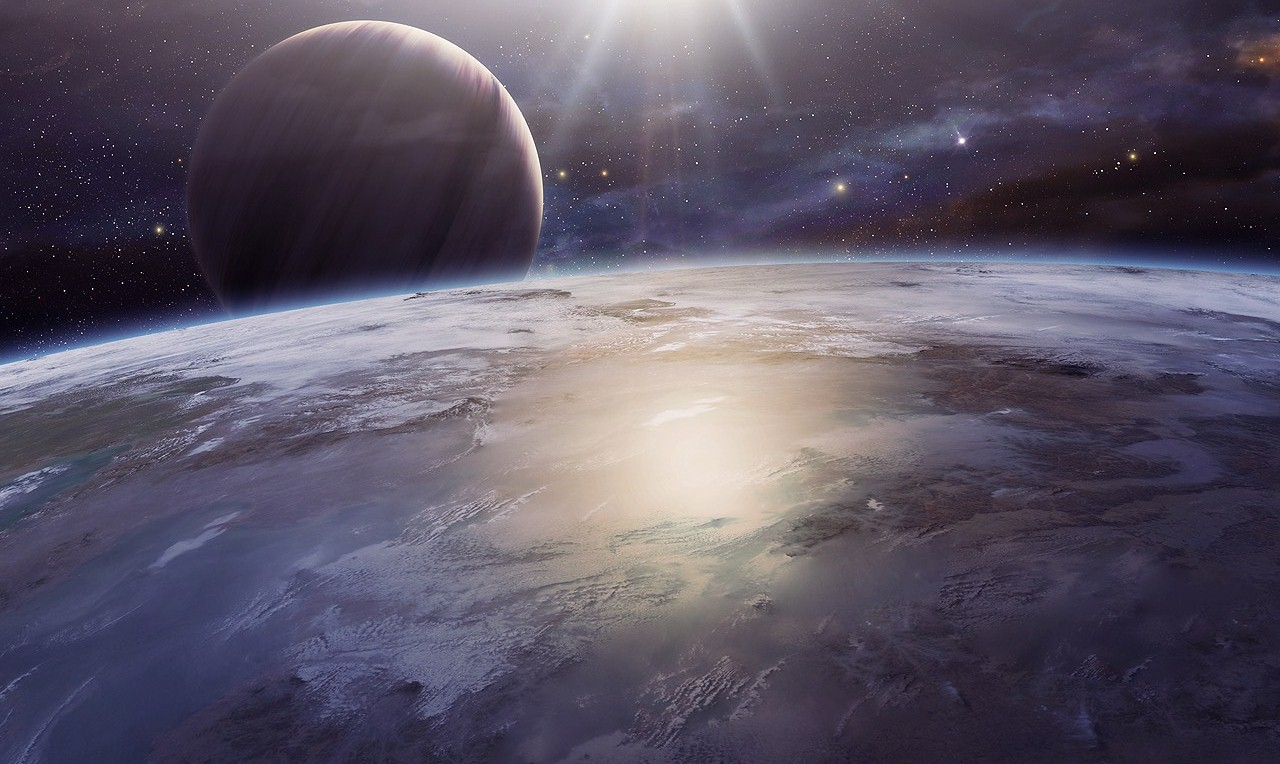 Sunrise on Earth by QAuZ
