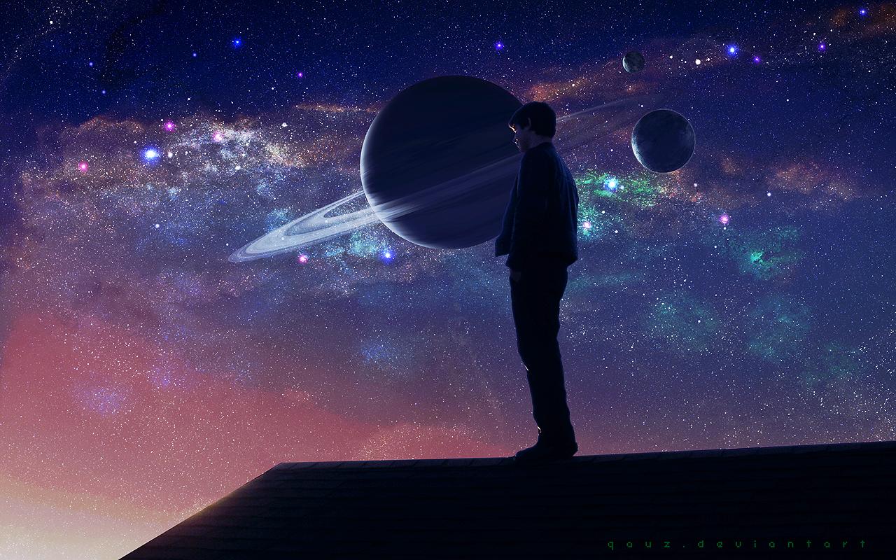 Space Mood by QAuZ on DeviantArt