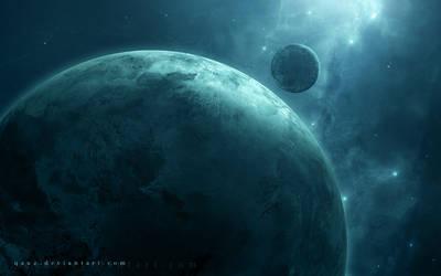 Frozen Planet by QAuZ