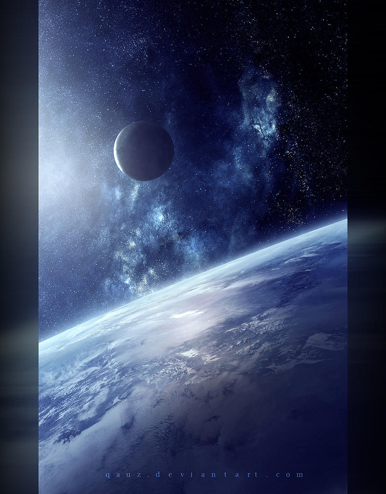 Earth, Space By QAuZ On DeviantArt