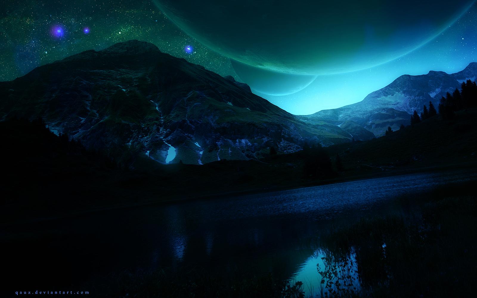 Dreamy Sunrise by QAuZ