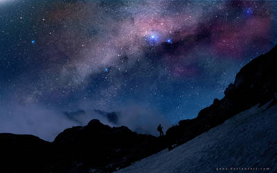 The Night And Milky Way