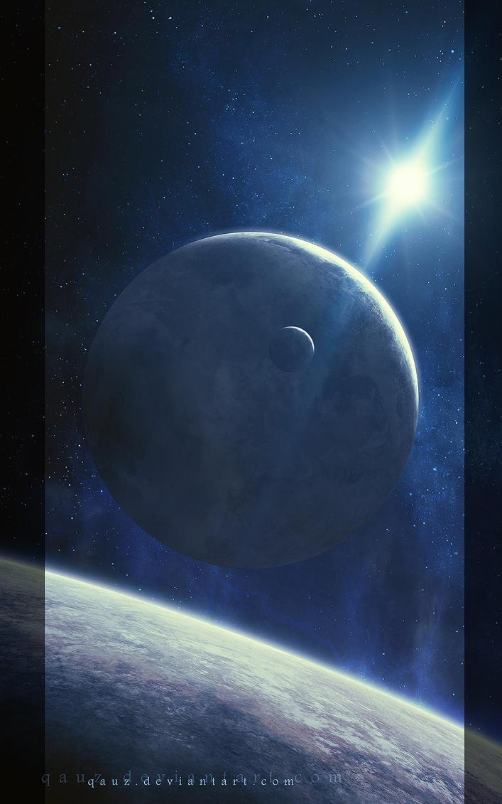 Worlds And Light by QAuZ