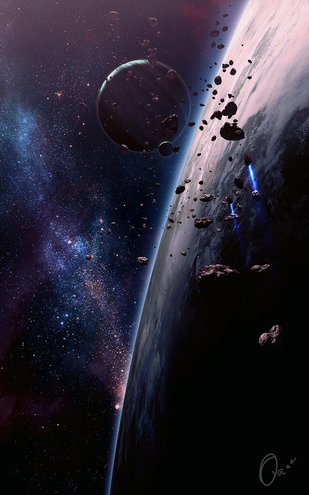 New Spaceart by QAuZ