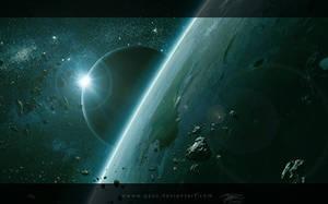 Calm Space by QAuZ