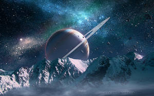 Beauty of Space by QAuZ