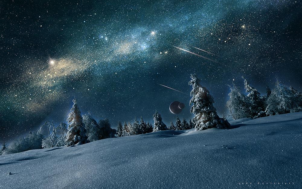 Winter's Wishes by QAuZ