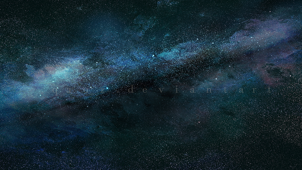 milky way space background stock by qauz on deviantart