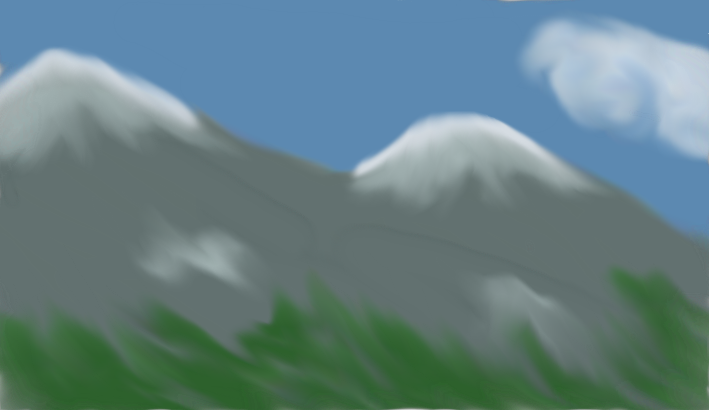 Mountains by Swiftstar01