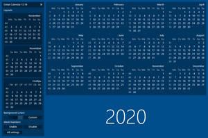 Detail Calendar