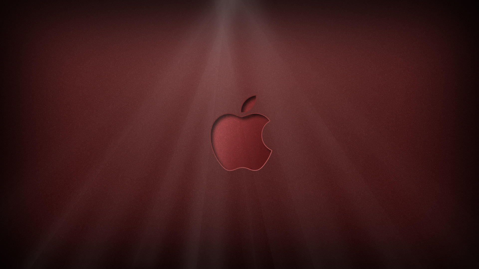 Apple Logo Shiny red by KillingTheEngine on deviantART