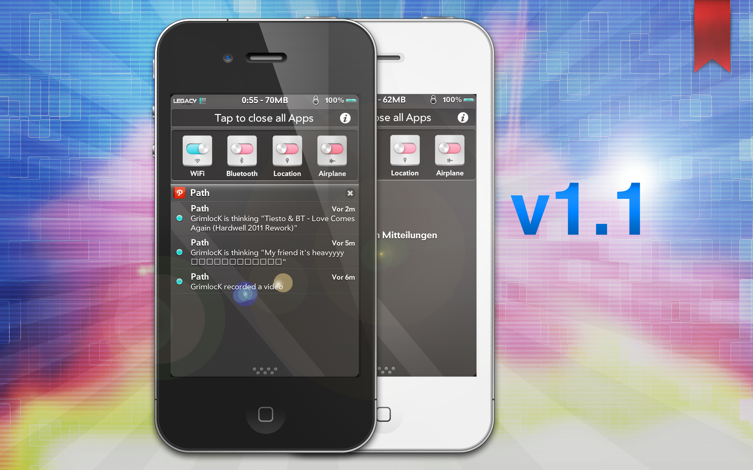 inception - iOS Notification Center v1.1 by KillingTheEngine