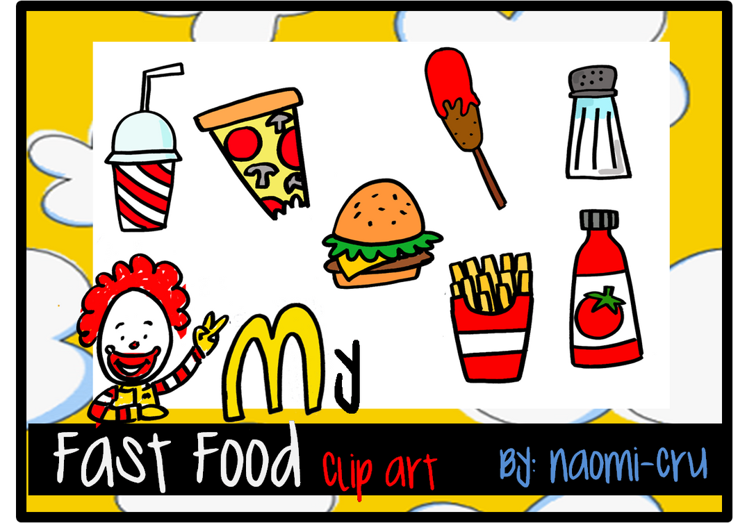clipart fast food free - photo #23