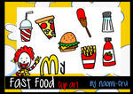 My Fast Food Clipart