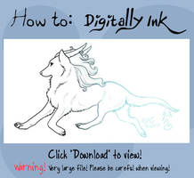 How To: Digitally Ink