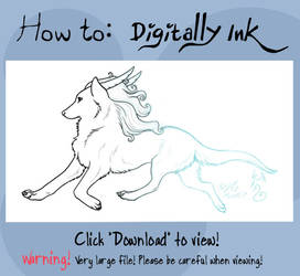 How To: Digitally Ink by rheall