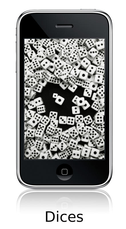 Dices Wallpapers 4 iPhone by yopanic