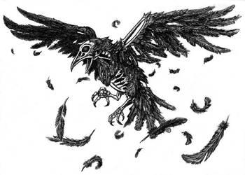 Nachtkrapp The Night Raven [Trippy Animations] by FabioRosado