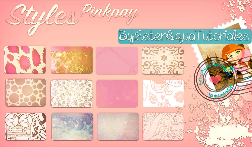 Styles Pinkpay Glass by BellakysBlueTeam