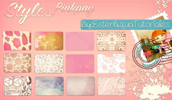 Styles Pinkpay Glass by BellakysBlueTeam