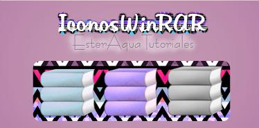 Iconos WinRAR by BellakysBlueTeam