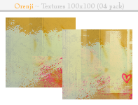 Orenji Pack Textures 100x100 by cockaynesoup