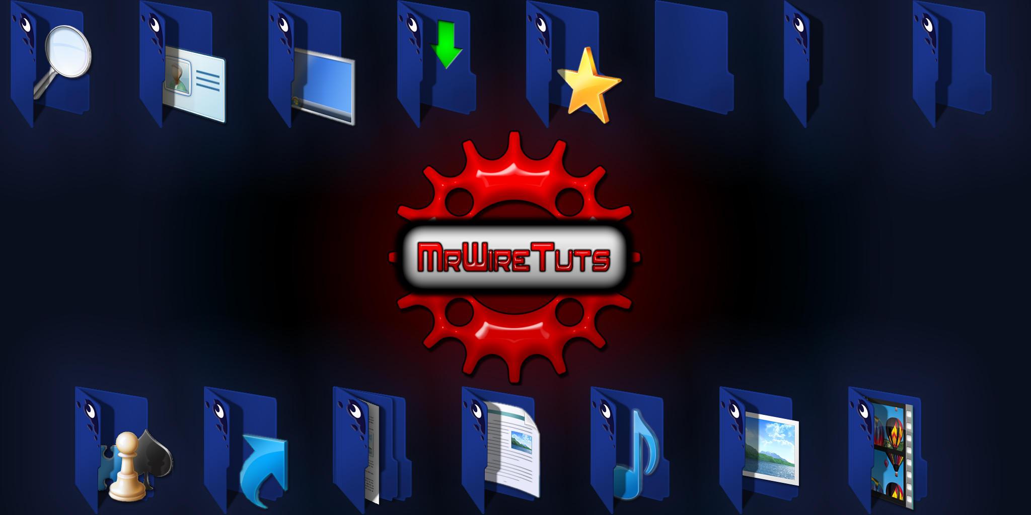 Princess Luna Folder Icons Pack by MrWireTuts