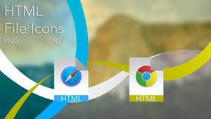 HTML Icons OS X Yosemite Style