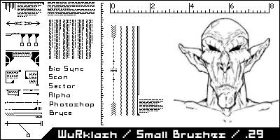 Small Brushes by WuRklash