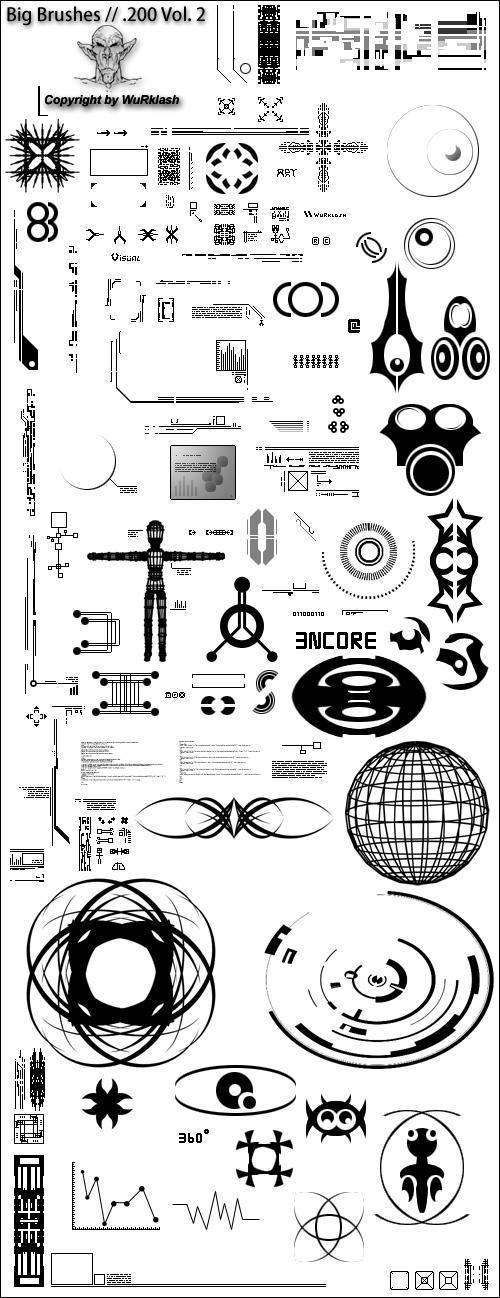 BB 200 Tech Brushes Vol. 2