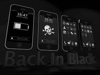 BackInBlack Theme for iphone by opla457