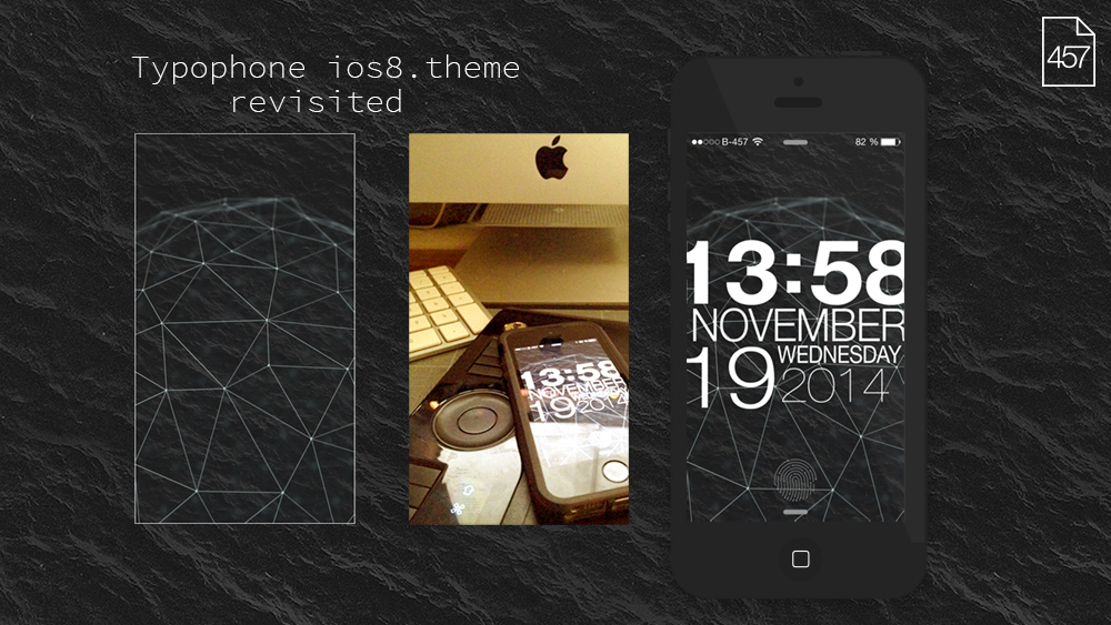 Typophone-ios8(No UNLOCK) Theme