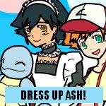 Pokemon Ash Maid Dress Up Game