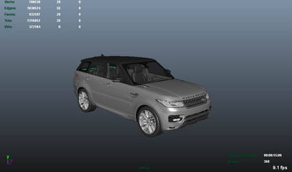 Car appearence animation