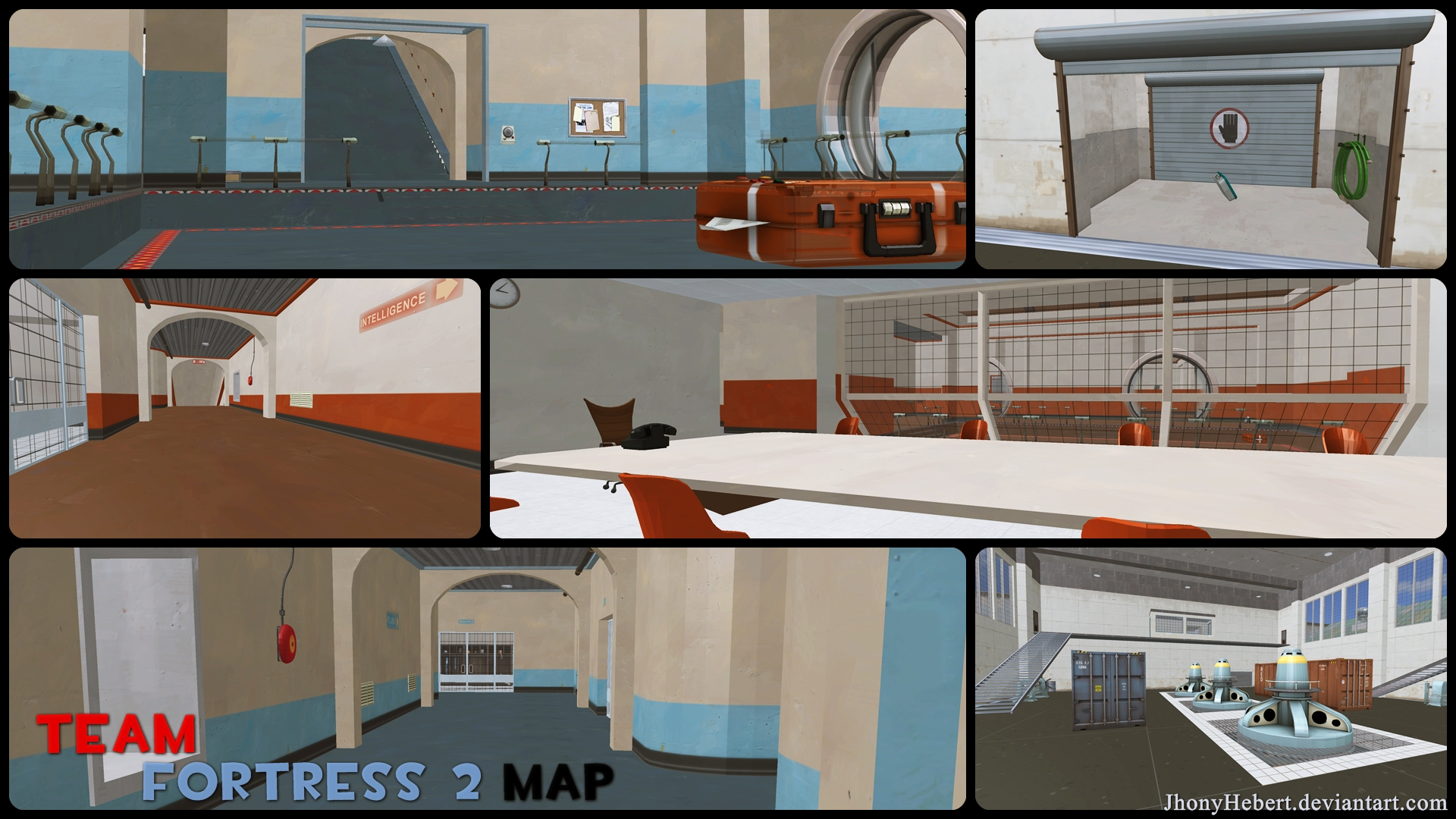 Team Fortress 2 Map - Download by JhonyHebert