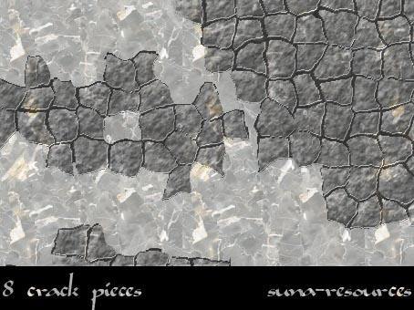 .:Crack pieces:. by suna-resources