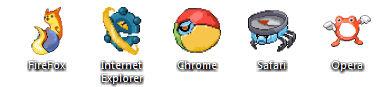 Pokecon: Free Icon Set