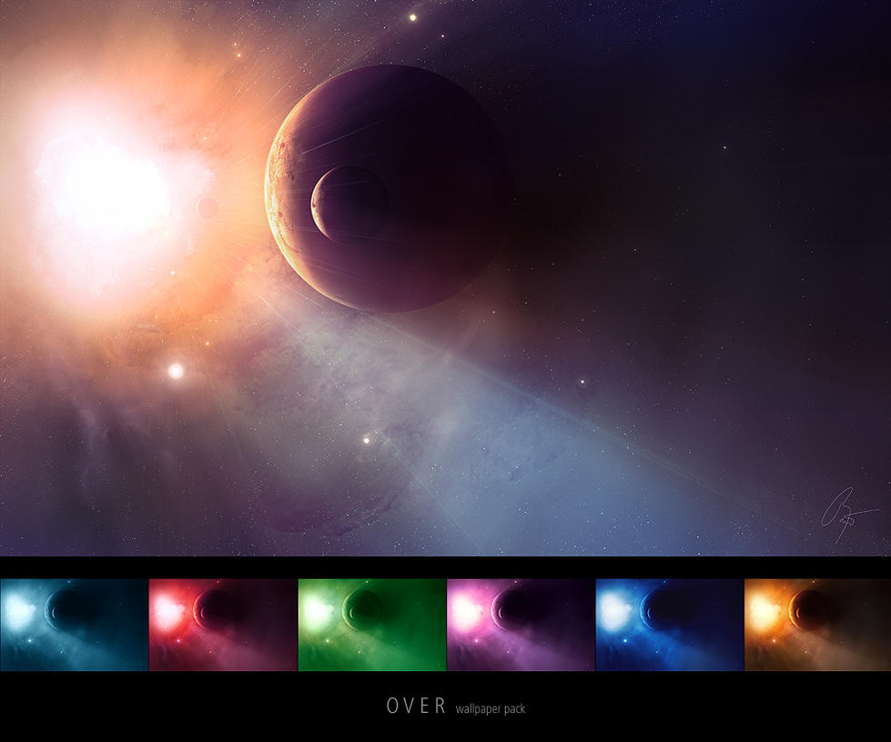 Over Multicolor Wallpaper Pack by JoeyJazz